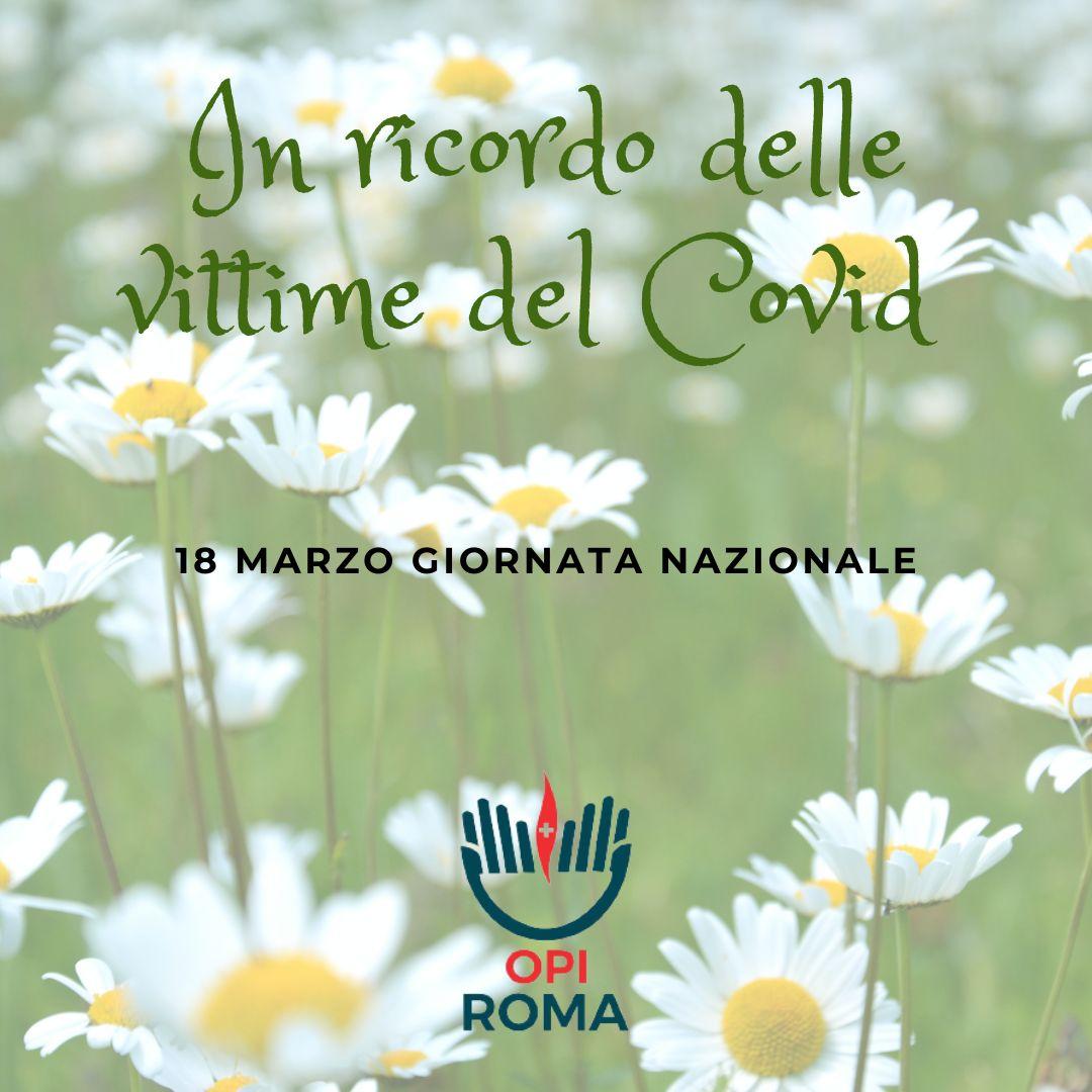 18 Marzo: Giornata nazionale vittime da Covid 19
